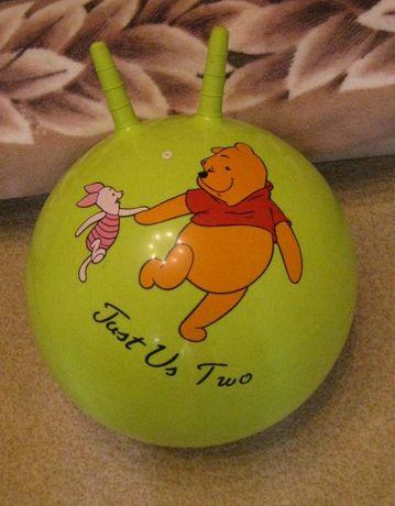 Мяч-прыгун детский с рожками диам 135 см