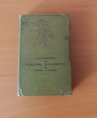 """Książka antykwaryczna ,Encyklopedia kobiecych robótek ręcznych""""-"""