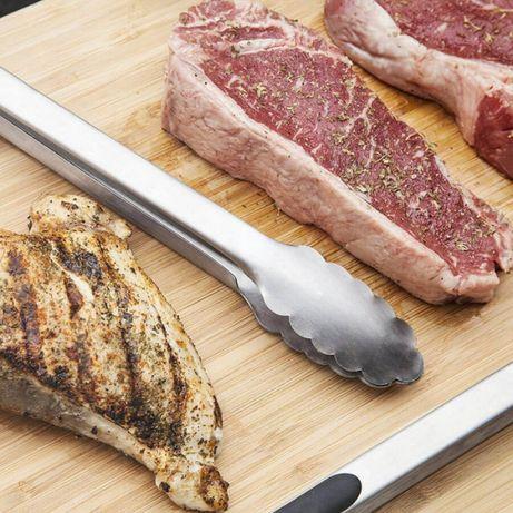 Щипцы для мяса и овощей.