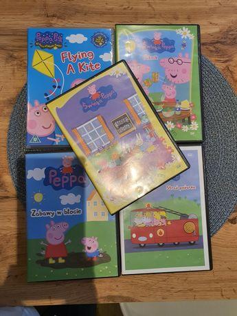 Bajki dvd świnka pepa