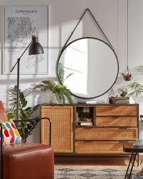 Espelho Redondo 80 diam Alça Mirror Big Round - by OVO Home Design