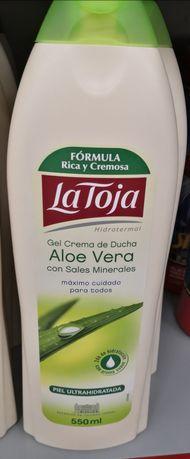 Żel pod prysznic Aloe vera z minerałami