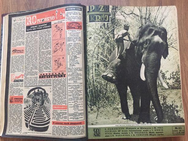 Przekrój - kolekcja roczników od 1948 do 1981