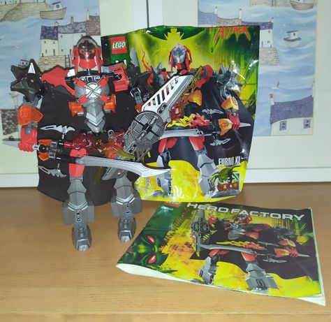 Zestaw Lego Hero Factory Furno XL 44000