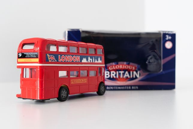 London Routemaster Bus/Autocarro Londres - Glorious Britain miniatura