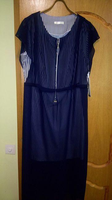 Шикарное Турецкое платье р.54