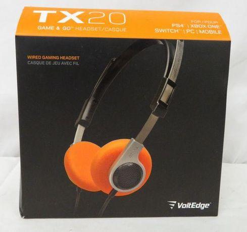 Słuchawki Gracza Gamer 'a VoltEdge TX20 Game & Go Headset Retro