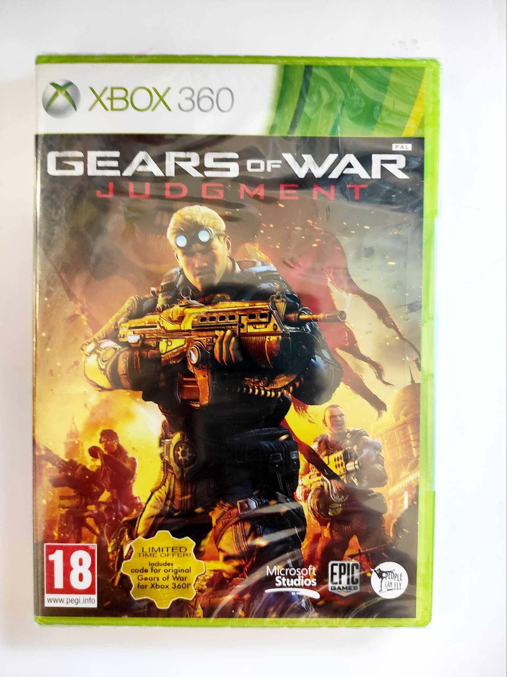 Gears of war Judgament Xbox 360