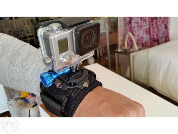 Suporte pulso para gopro 360º - SJCAM Xiaomi - Novo -Portes Gratis