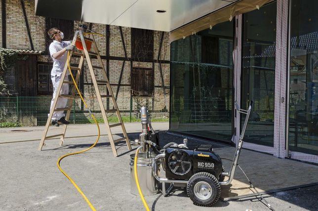 Natrysk bitumiczny izolacje fundamentów dachów pionowe poziome