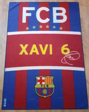 Dywan FC Barcelona.  XAVI 6
