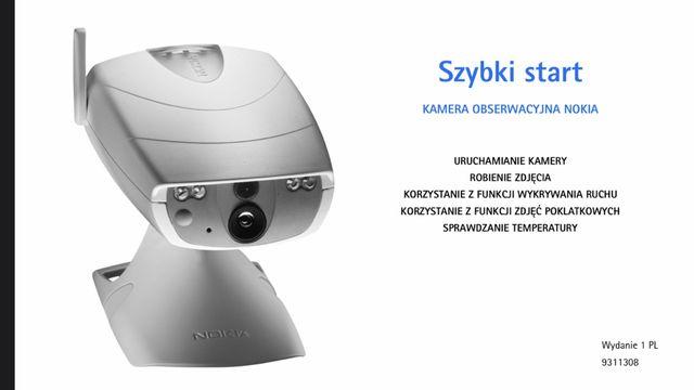 Fotopułapka NOKIA Observation PT2 kamera sim GSM/MMS alarm monitoring