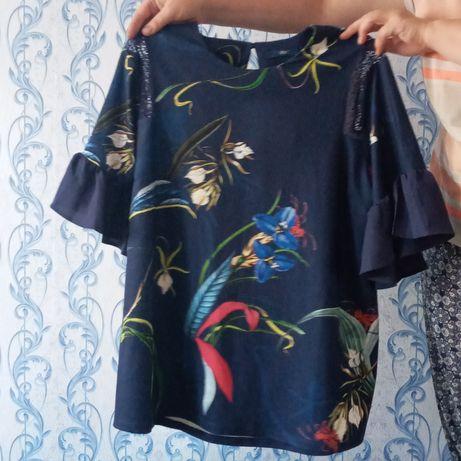Женская летняя блуза 52-56