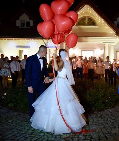 Suknia ślubna Ariamo Bravia + wszystkie dodatki