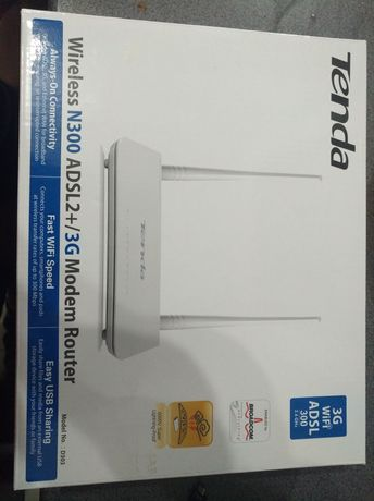 Tenda router wifi adsl 2+