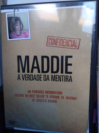 """O caso MADDIE, documentárioDVD """" a verdade da mentira"""" Gonçalo Amaral"""