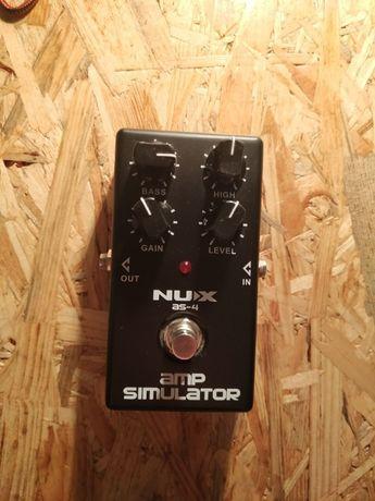 NUX AS-4 amp Simulator distortion