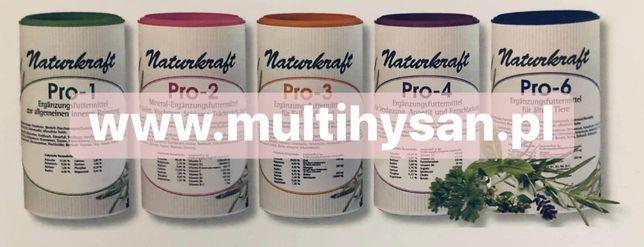 Naturalne zioła PRO naturkraft granulat dla zwierząt Reico Vital