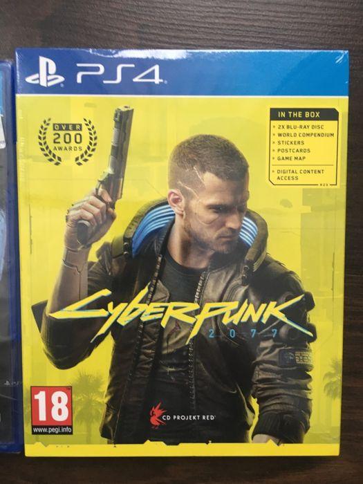 PS4 Cyberpunk 2077 Лицензионный диск Днепр - изображение 1