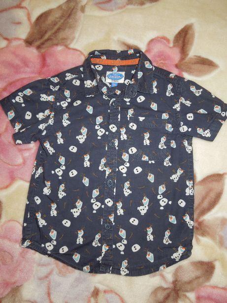 Рубашка детская Olaf Frozen Disney оригинал.