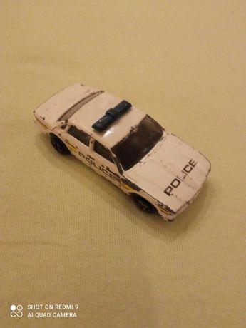 Vintage Corgi White Jaguar Police Car