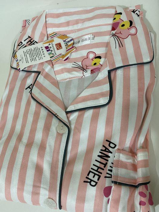 Атласная пижама Обычная - изображение 1