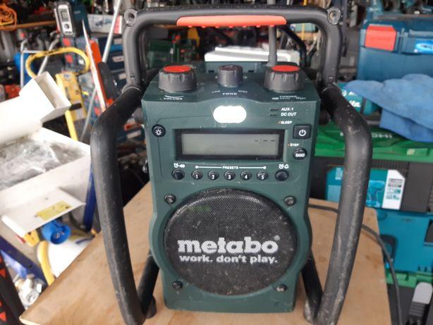 Аккумуляторный радиоприемник Metabo RC 14.4-18