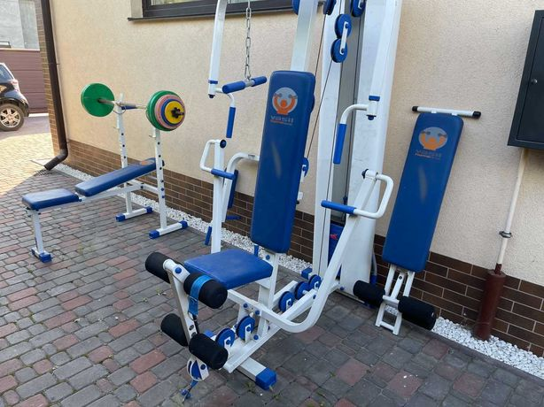Продам тренажер Василь Vasil Gym + штанга + скамья для жима.