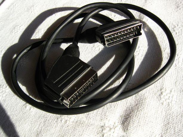 eurozłącze - kabel przyłączeniowy długość 140 cm.