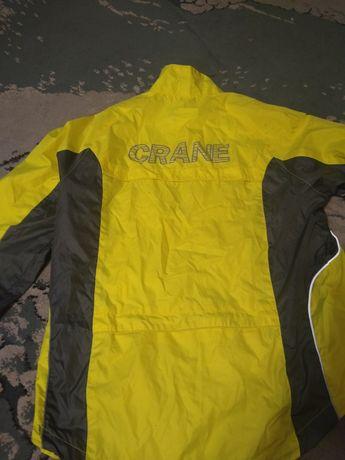 kurtka przeciwdeszczowa odblaskowa rozmiar S uzywana