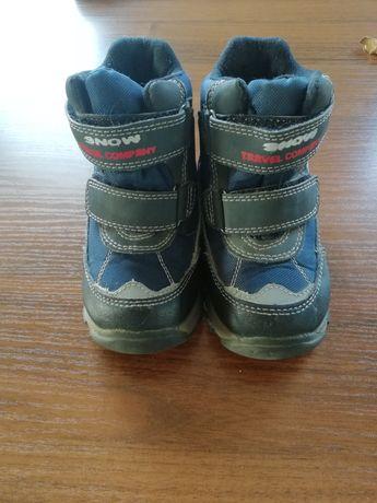 Buty zimowe  kozaki dla chłopca 24