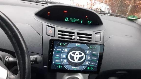 Toyota Yaris XP 90 2005 - 2012 radio wyświetlacz android + carplay