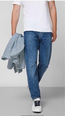Синие мужские штаны брюки джинсы Levis 502 W 33 L 32 carhartt evisu