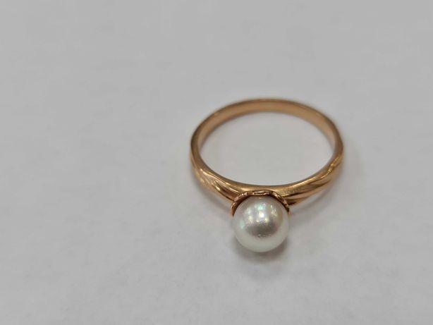 Wyjątkowy złoty pierścionek damski/ Radzieckie 583/ 3.75 gram/ R20