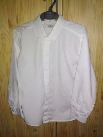 Сорочка, рубашка белая нарядная Sevrie в идеале, 128р