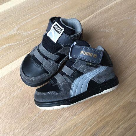 Кожаные хайтопы кроссовки Puma 13 13,5 см 20 размер