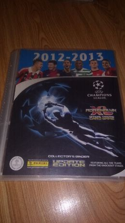 Karty Panini UEFA Champion League 2012/13 UPDATE EDITON + album