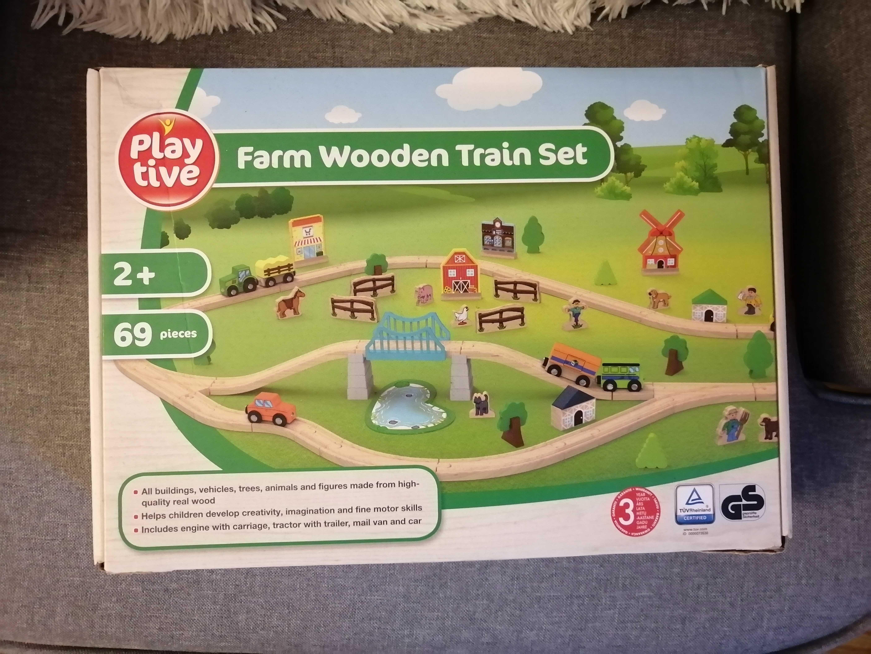 Nowa drewniana farma