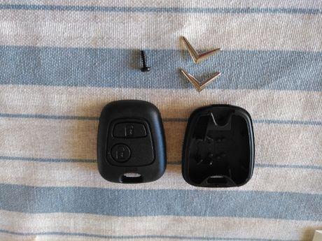 Capa Carcaça Chave 2 Botões CITROEN C2 C3 C4