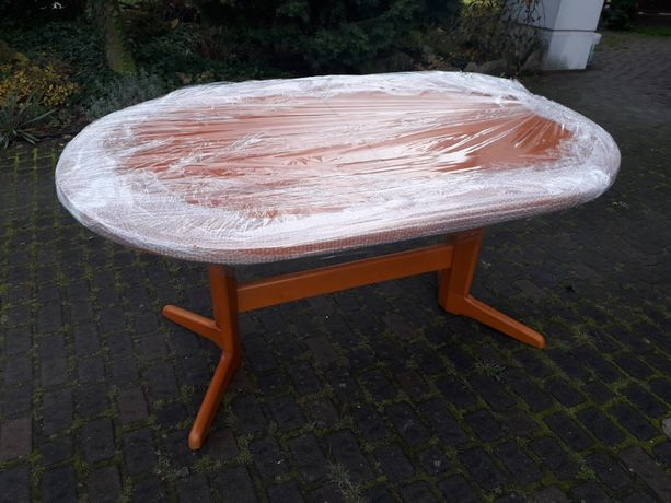 Stół duży drewniany i 12 krzeseł TRAX Bakaras Przeworsk czereśnia