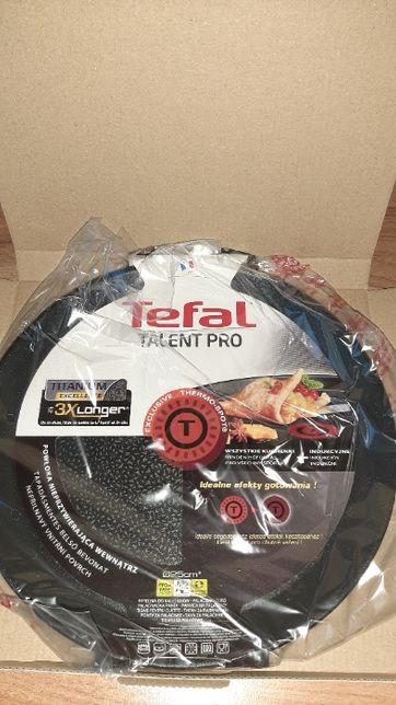 TEFAL Talent Pro 25 cm czarna patelnia do naleśników nieprzywierająca