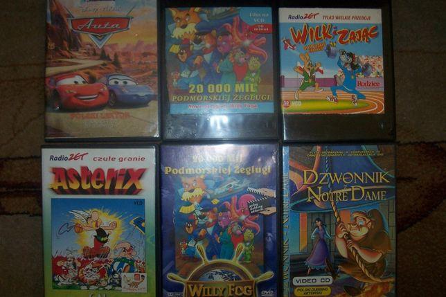 Bajki - zestaw bajek na DVD dla dzieci