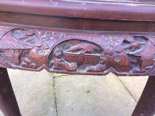 Mesa de macau em madeira maciça