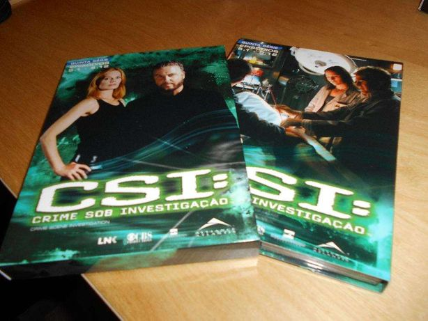 DVD's CSI Las Vegas - 5ª Temporada NOVO PREÇO