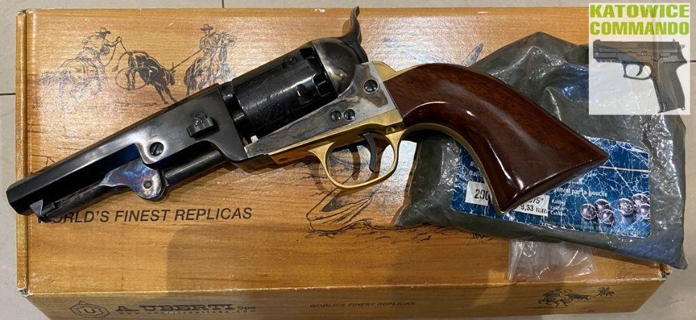 Rewolwer czarnoprochowy Colt Navy 1851 cal. 36 Uberti Katowice - image 1