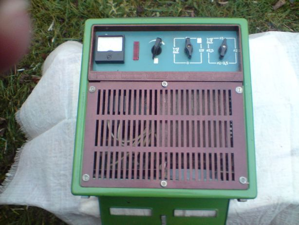 Зарядное устройство 6/12В 10А на сварочном трансформаторе