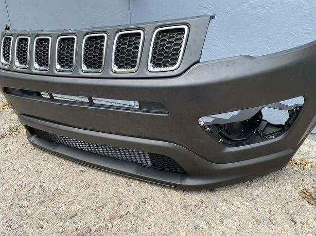 Бампер передний Jeep Compass 2017