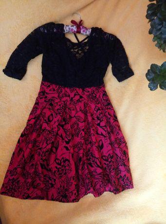 Платье гипюр женское