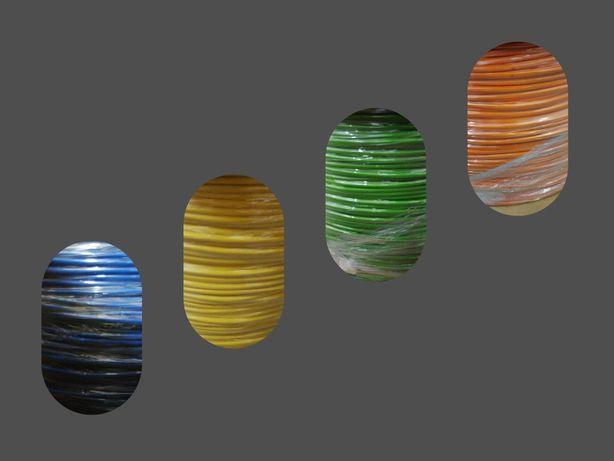 Rolos de Cabo 2x1mm2, certificado, 4 cores