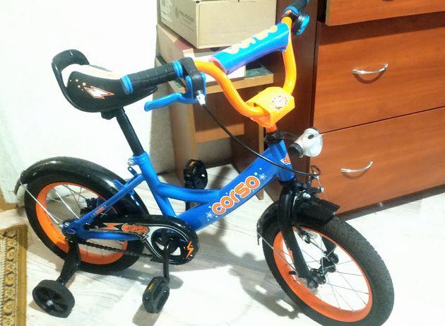 """Детский велосипед Corso 14"""" 3-6 лет"""